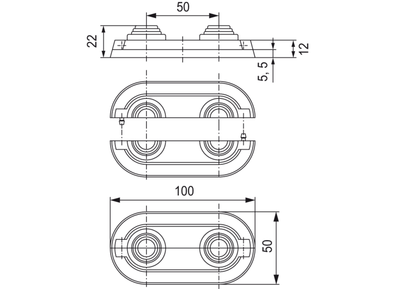 Габариты и размеры декоративной розетки для радиаторов с нижним подключением