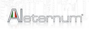 Логотип технологии Aleternum, Fondital, Италия. Технология обработки внутренней поверхности радиаторов. Антикоррозийное покрытие.