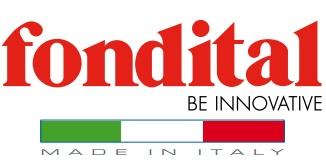 Логотип компании Fondital, алюминиевые радиаторы, дизайн-радиаторы, отопительная техника - сделано в Италии