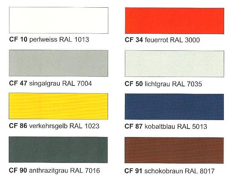 Образец цветов для заказных моделей Arbonia-1  в магазине teplo4you.ru